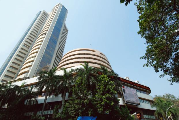 Sensex drops over 150 pts; Nifty below 11,800