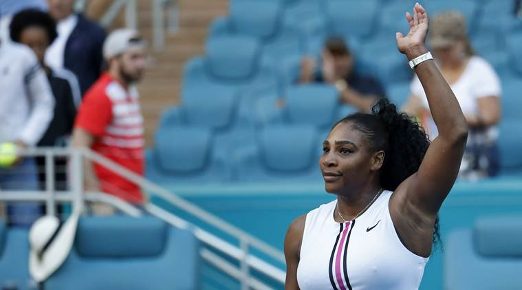 Serena Williams withdrew, blaming a previously undisclosed left knee injury. (Image: Reuters)