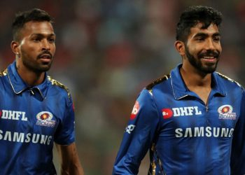 Mumbai edged past Royal Challengers Bangalore by six runs in their IPL clash Thursday night and Sharma was lavish in his praise for Bumrah, who picked up three wickets, and Pandya, who scored 32 off 14 deliveries. (Image: PTI)