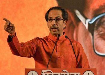 Shiv Sena leader Uddhav Thackeray.