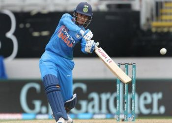 Mandhana replaced the injured Harmanpreet Kaur as the T20 captain.