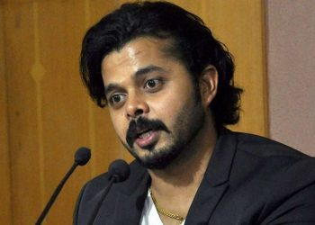 Delhi Police had arrested Sreesanth and his two other Rajasthan Royals' teammates, Ajit Chandila and Ankeet Chavan, on the charge of spot-fixing during IPL 2013.