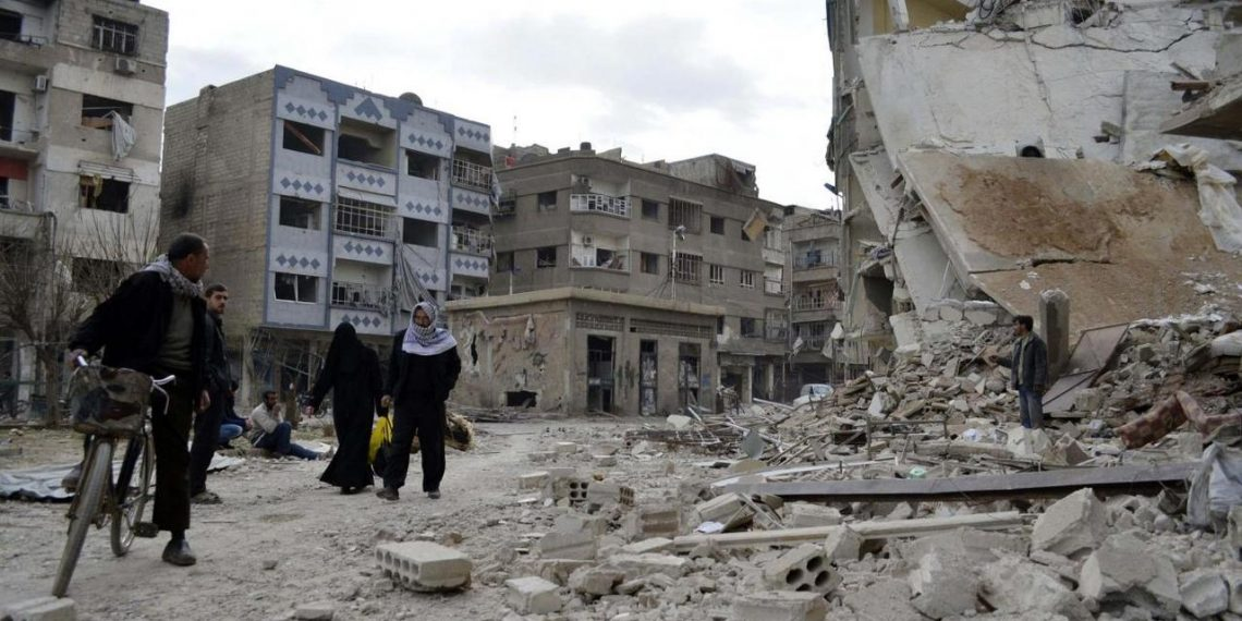 The Syrian Observatory for Human Rights said more than 21,000 children and 13,000 women were among the dead.