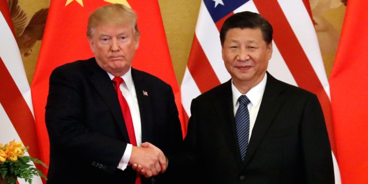 At the same time, talks with the Chinese on a bilateral trade deal has been going on quite well, Trump said. (Image: reuters)