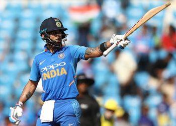 Virat Kohli scored his 40th ODI century.