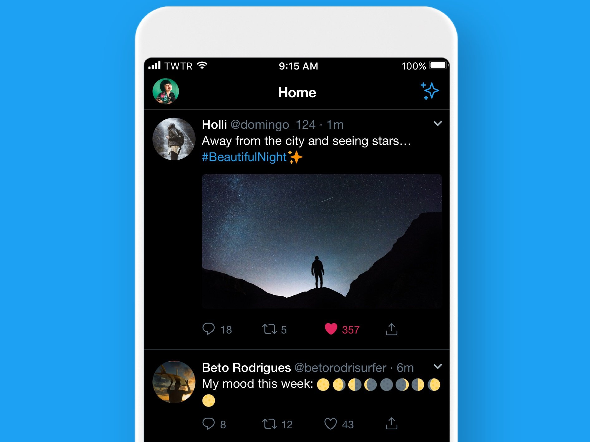Twitter expands dark mode options on iOS - OrissaPOST