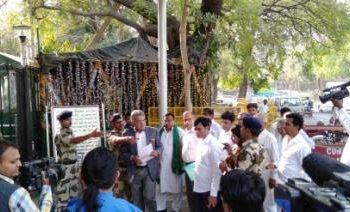 A delegation of BJD
