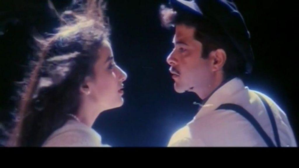ANil_Manisha in rd burman's last film 1942 a love story