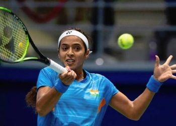 The Indian, an Asian Games bronze medallist, shocked the fancied Australian 7-5, 2-6, 6-5 in a gruelling two hours and fifty minutes battle at the WTA 125K event. (Image: Representational)