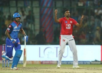 Ashwin is the fourth captain to be fined for slow over-rate in the ongoing season of the IPL.