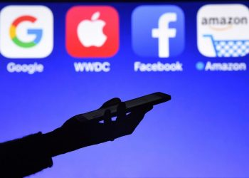 French President Emmanuel Macron earlier this year caused controversy by suggesting a ban on anonymous postings on social media. (AFP)