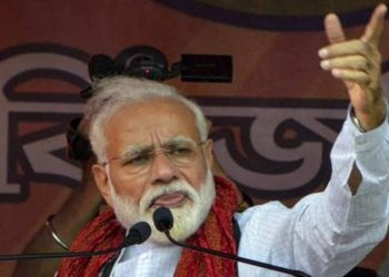 """""""We reiterate our stand on Ram Mandir. We will explore all possibilities within the framework of the Constitution and all necessary efforts to facilitate the expeditious construction of the Ram Temple in Ayodhya,"""" BJP. (PTI)"""