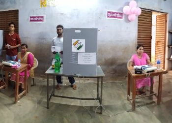 Voters surprised, officials comfortable in 'Pink booths'