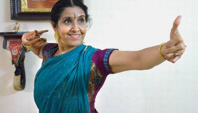 Renowned Bharatanatyam exponent and scholar Bala Devi Chandrashekar (PTI)