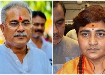 Thakur's conduct did not become of a `Sadhvi' (ascetic or holy woman), the Congress leader said, speaking at a press conference here. (Image: Dailyhunt)