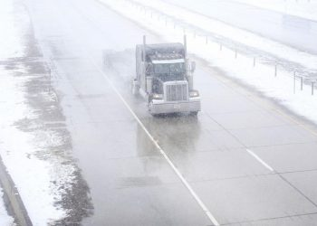 Numerous traffic crashes were reported in northeastern South Dakota, and the storm knocked out power to thousands of homes and businesses in Sioux Falls. (AP)