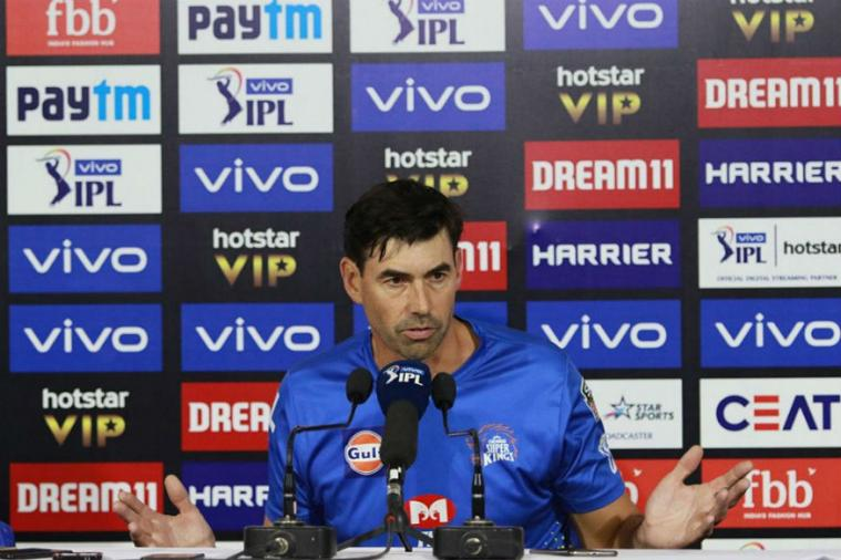 Chennai suffered only their second loss of the season Wednesday and Fleming said the defending champions would work together to iron out the flaws.