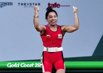 India's brightest medal prospect, Mirabai, has made a strong comeback from a lower back injury that kept her out of action for nearly nine months.