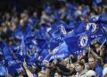 The Premier League club's security team identified the fans from a video on Twitter showing them singing a derogatory song about former Chelsea forward Mohamed Salah.