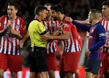 Costa was sent off in the first half of Atletico's 2-0 defeat to Barcelona on Saturday for directing a crude insult towards referee Gil Manzano.
