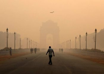 New Delhi, home to more than 20 million people, is the world's most polluted capital city [Adnan Abidi/Reuters]