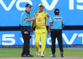 Former cricketers came down heavily on India's two-time World Cup winning captain for his act, saying the CSK skipper set a wrong precedent.