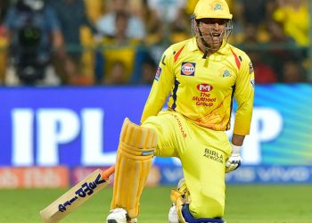 Dhoni's superb 48-ball-84 went in vain as RCB beat CSK by one run to stay afloat in the league.
