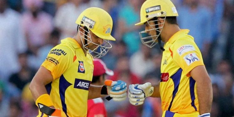 Dhoni was ruled out for CSK's last game with back spasm, paving the way for Raina to shoulder captaincy responsibility. (Image: PTI)