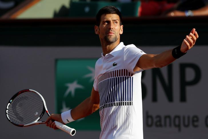 Djokovic has plenty on the line at his home base in Monaco, with the 31-year-old looking ahead to completing a possible 'Djoko Slam' with a French Open title in two months. (Image: Reuters)