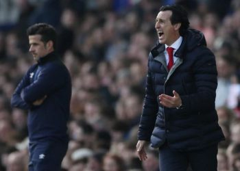 Arsenal boss Emery, while conceding his team had played badly, tried to remain positive in the aftermath at Goodison Park.