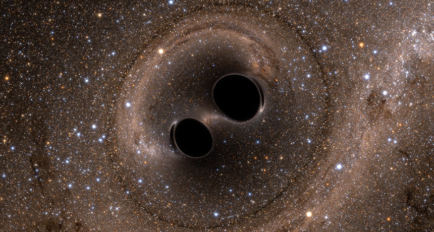 inventions that helped people find info about black holes
