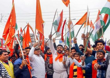 Over 200 Hindu Sena activists Saturday marched towards many places in Gurgaon, including Palam Vihar, Badshahpur and Om Vihar, and forcibly shut 250 meat shops, he said. (Representative image)