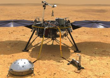 NASA's robotic Mars InSight lander machine