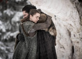 he originally had Arya falling for her half-brother Jon, who is later revealed to be her cousin.