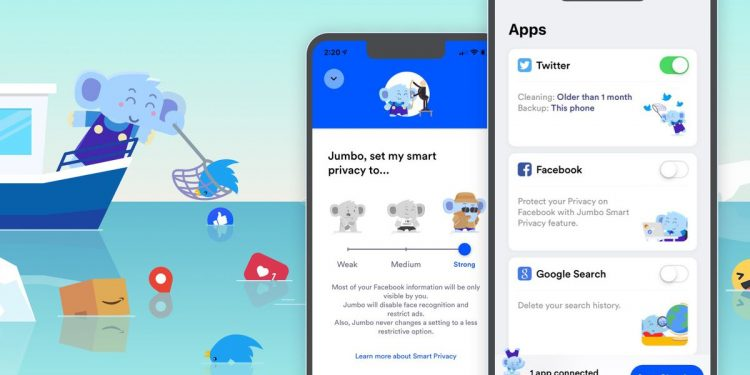 This iPhone app cleans up your social media profiles