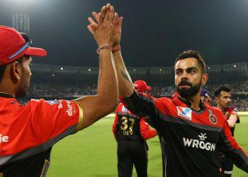 After Kohli scored a match-winning hundred against KKR), de Villiers heaped prise on Kohli and called him 'little biscuit'.