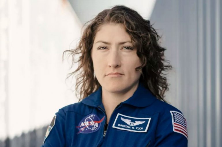 Her mission is planned to be just shy of the longest single spaceflight by a NASA astronaut -- 340 days, set by former NASA astronaut Scott Kelly during his one-year mission in 2015-16. (AP)