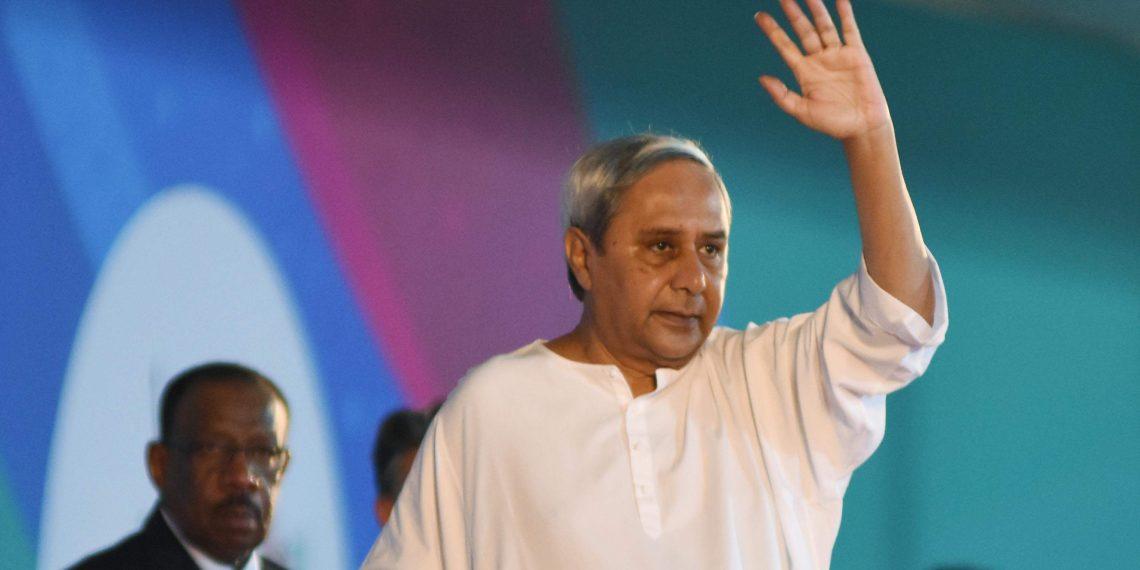 File Pic of Naveen Patnaik