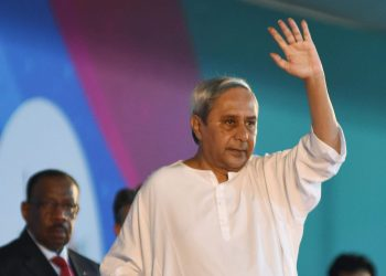 File Pic of Naveen Patnaik