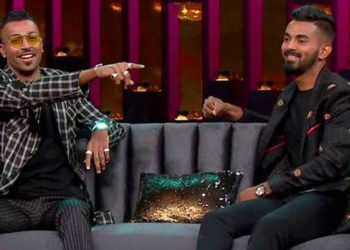 Pandya and Rahul faced widespread criticism for their comments on a talk-show.