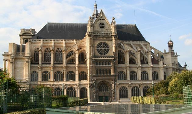 The Paris diocese invited them to attend Easter Mass Sunday at the grandiose Saint-Eustache Church on the Right Bank of the Seine River.