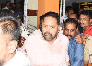 Pradeep Maharathy being sent to Jharpada jail, Monday OP Photo