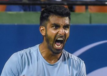 The 29-year-old from Chennai, who broke into the top 100 in February this year, improved two places to become the sixth highest in terms of singles ranking in the history of Indian tennis.