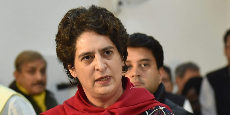 The Congress secretary general in-charge for Uttar Pradesh (East) also said the BJP instead of speaking about India and what it had done for its youth was talking about Pakistan. (Image: PTI)