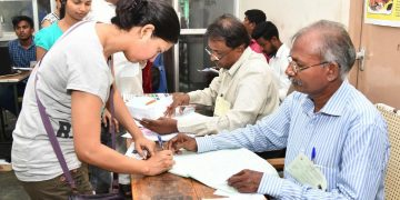 Polling in LS constituency of Puducherry Thursday 18 April 2019 (File photo)