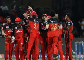 Hosts RCB will be playing for pride after their slender hopes of entering the playoffs went up in smoke with their defeat to Delhi Capitals Sunday.