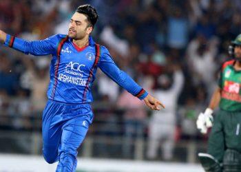 Afghanistan's star spinner Rashid Khan.