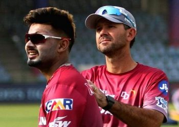 Ponting had nothing but words of encouragement for the star Delhi Capitals player.