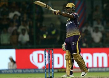 Needing 66 runs off 24 balls against Royal Challengers Bangalore, KKR were up against it before Russell came in and smashed an unbeaten 48 off 13 balls to complete the job with five balls to spare.