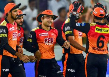 SRH currently hold the top spot in the points table with three back-to-back victories.